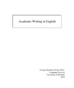 английское академическое письмо