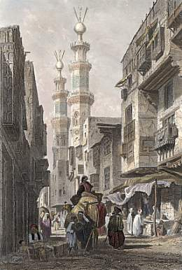 Egypt. Le Caire. ca 1869
