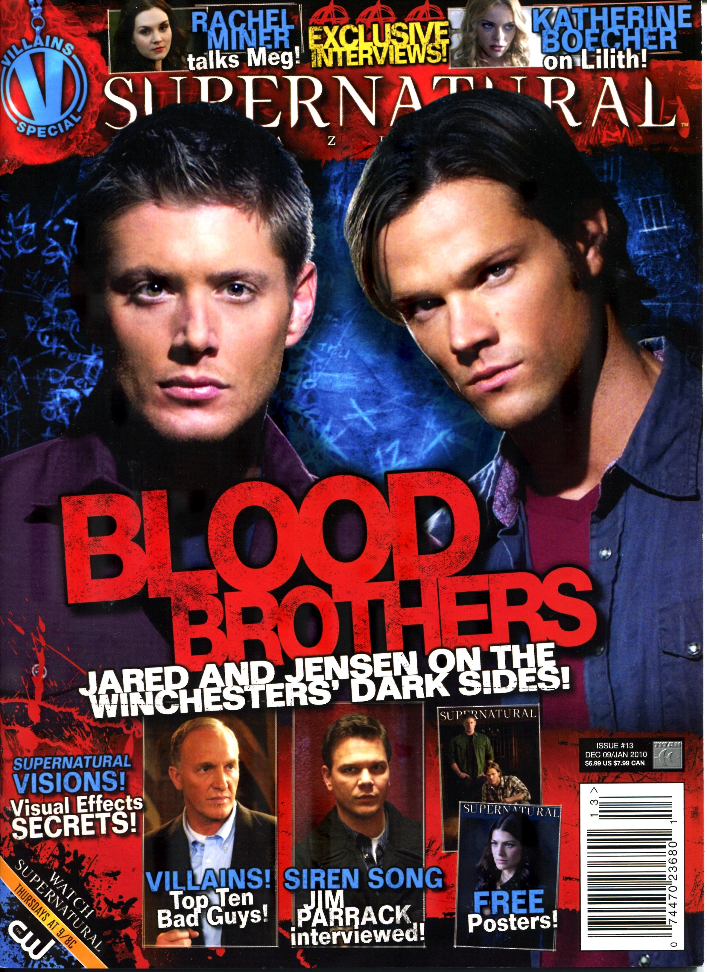 Supernatural Magazine Cover