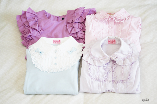 ZZZ sweet blouse