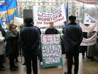 Юрій Лагутов захищає інтереси Русанівки