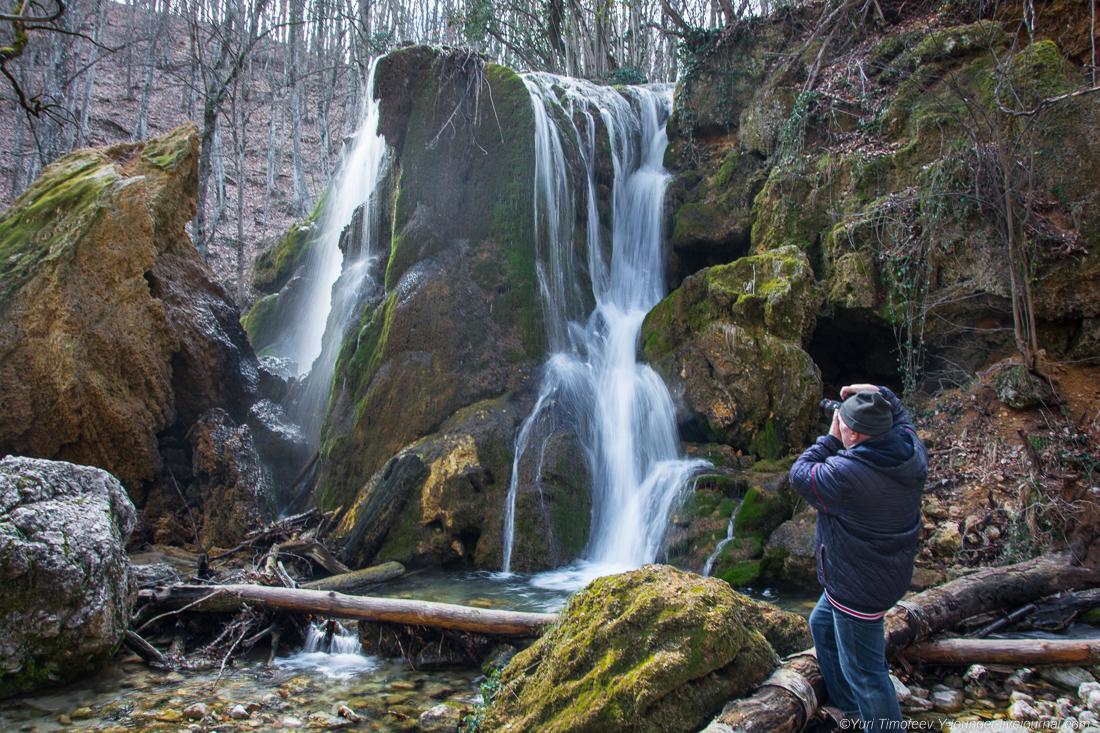 игоревич водопад в крыму серебряные струи фото пол