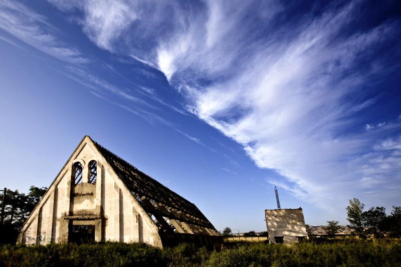Руины соляной мельницы в Алькале. Фото J. Ignacio Iguarbe.