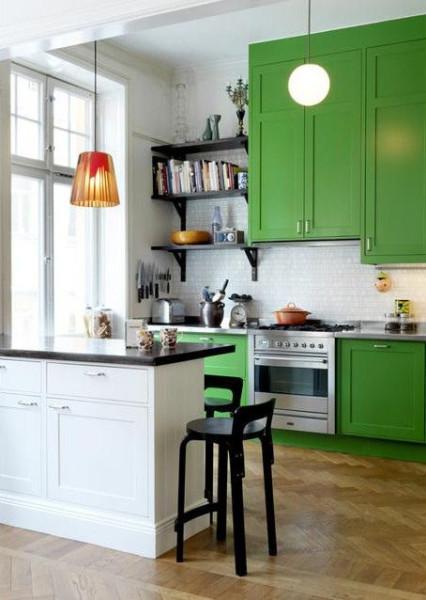 green kitchen (2)