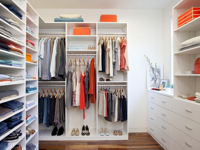Маленькие гардеробные системы дизайн