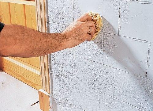 Как сделать декоративный кирпич своими руками из шпаклевки