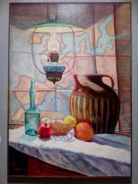 2011_Натюрморт с керосиновой лампой