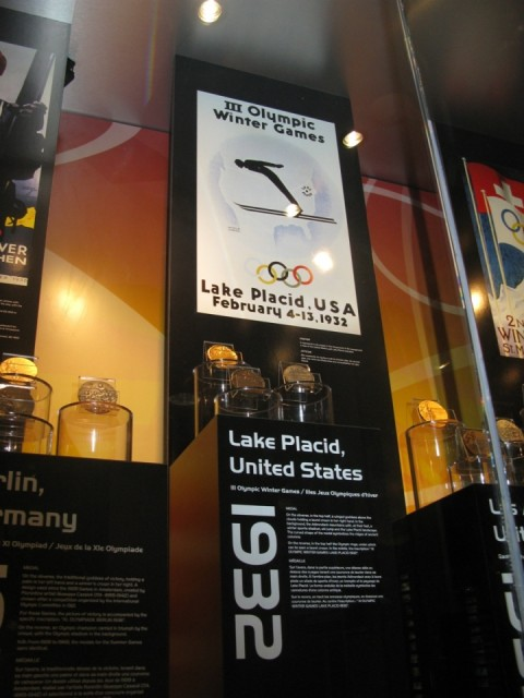 коллекция олимпийских медалей