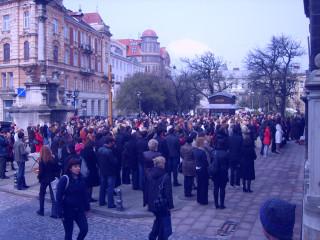 проповедь переходящая в русофобский митинг