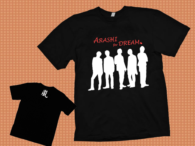ARASHI sample black