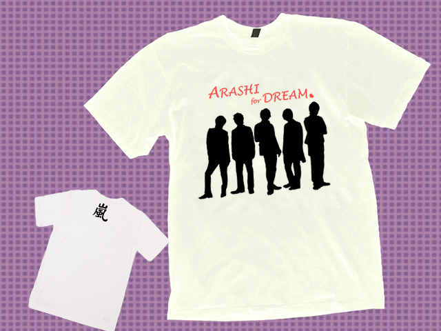 ARASHI sample white