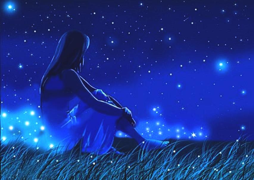 Картинки лунная ночь и звезды сияют в твоих глазах