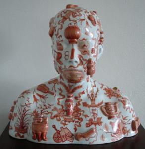 1097-136-5_Ah Xian China China Bust 34