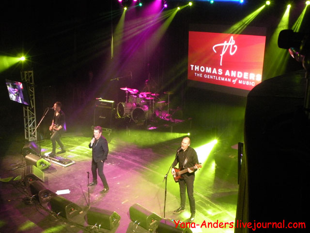 Thomas Anders in Boston