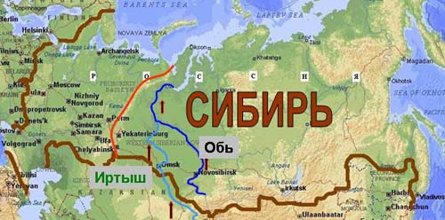 Sibir-map