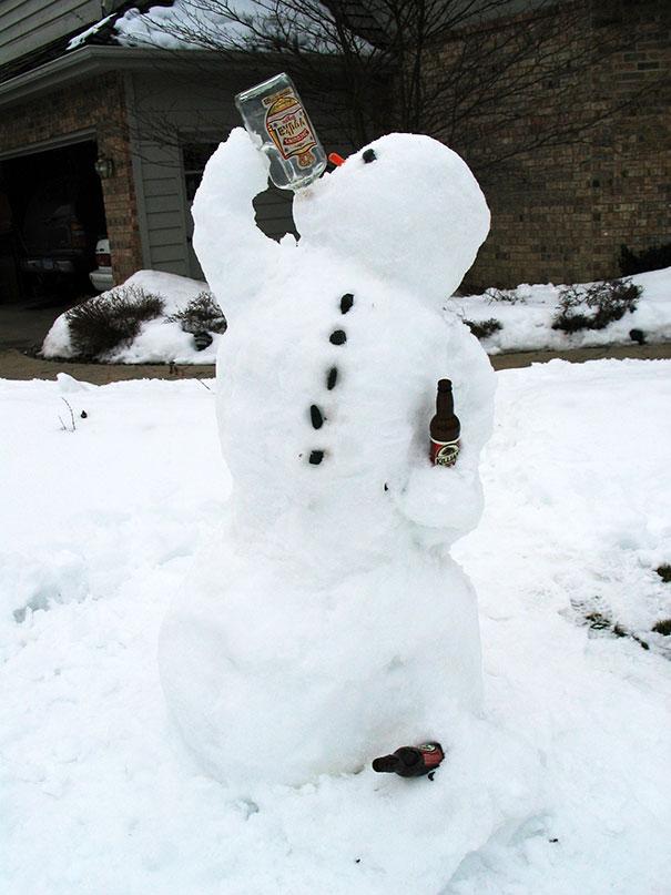 snowman-funny-beer