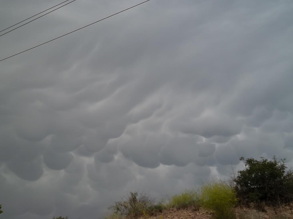 Облака над Бюраканом