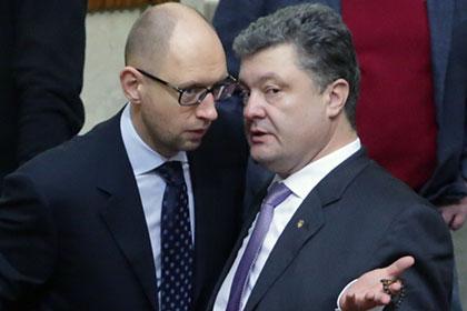 Порошенко_и_Яценюк_фото