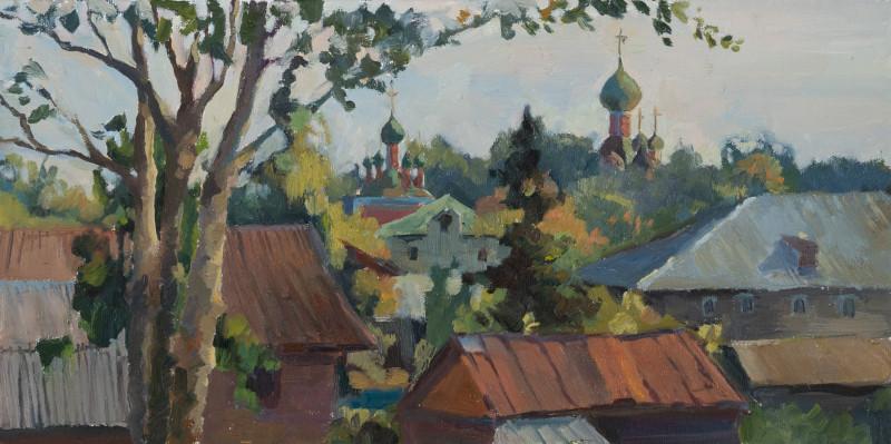 30x60. Утро в Переславле.