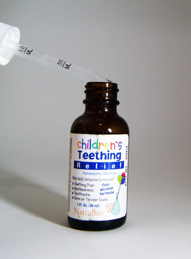 NatraBio, Средство от боли при прорезывании зубов