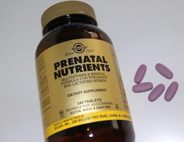 Solgar, Витаминно-минеральный комплекс для беременных и кормящих