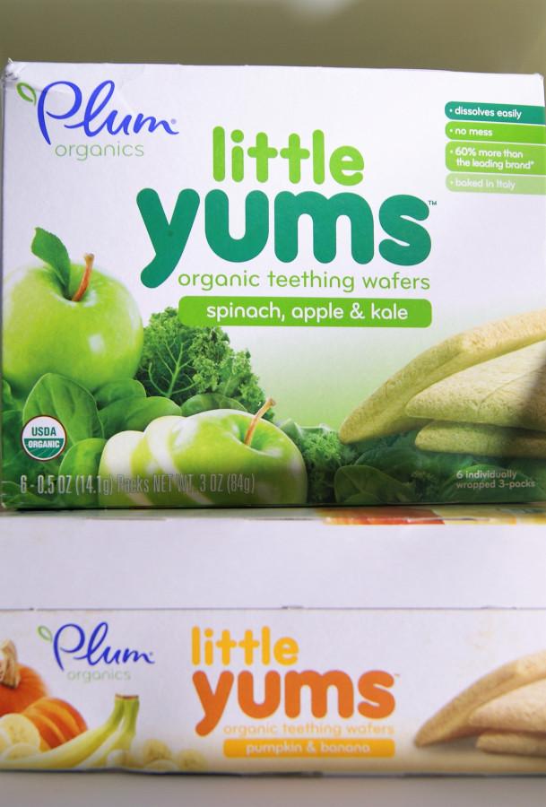 Plum Organics, печенье для прорезающихся зубов