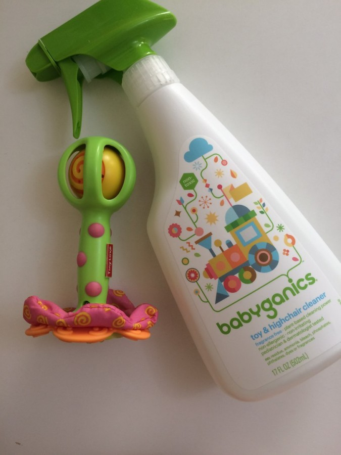Очищающее средство для игрушек и стульчиков, без отдушек