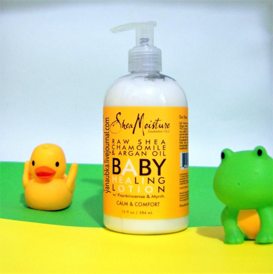 Shea Moisture, Детский лосьон для сухой кожи склонной к высыпаниям и дерматитам