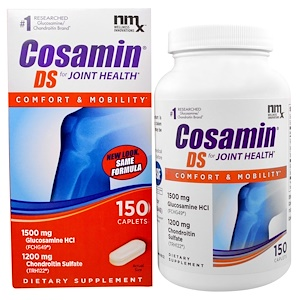 Глюкозамин и хондроитин , добавки для суставов на iHerb