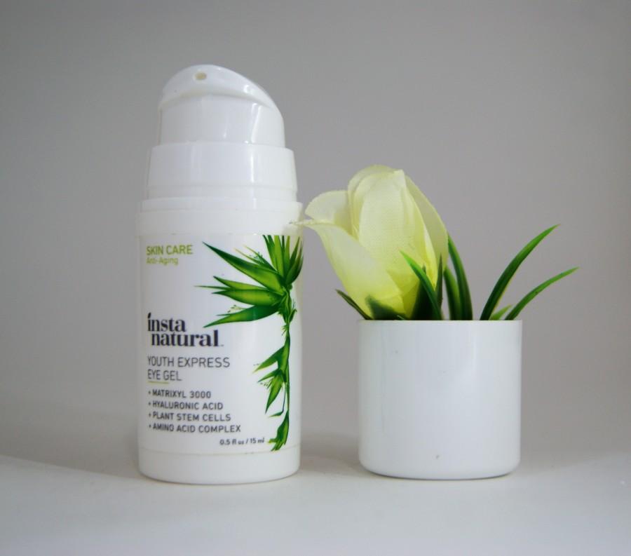 InstaNatural омолаживающий гель для области глаз