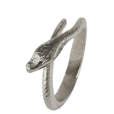 bijoux-bague-serpent-argentee