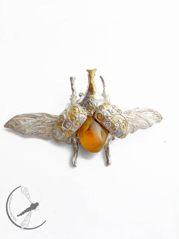 silver_chamber_boutique_-_pendant-_silver_and_amber_large
