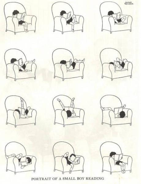 Как дети читают