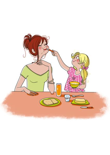 Feed mum