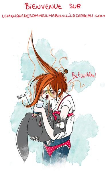 Rocka bye cat