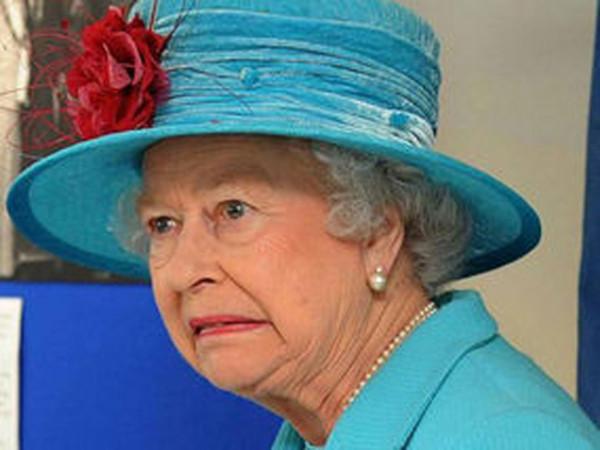 queen shocked