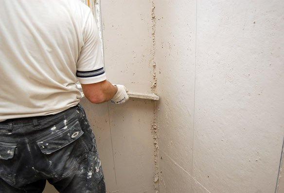 Как сделать угол в стене из пластика