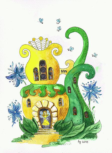 дом-дюймовочки