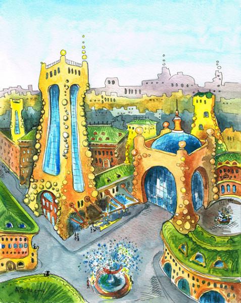 город-желтых-башен