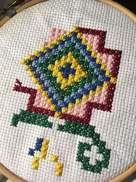 болгарский-крест