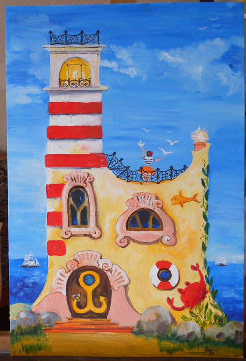 смотрительница-маяка