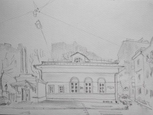 Москва-рисунок