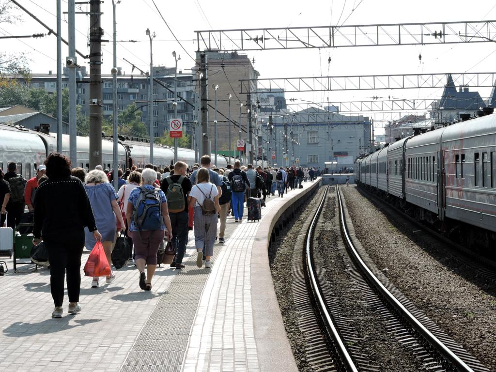Дорога в Ярославль и обратно.