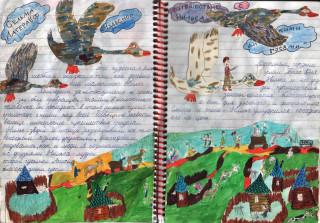 читательский дневник обложка картинки