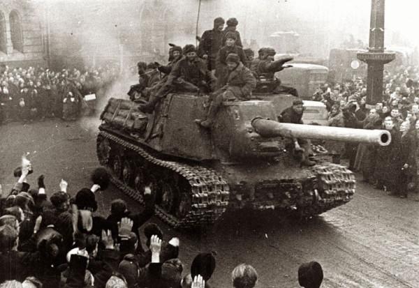 Освобождение Польши ИСУ-152