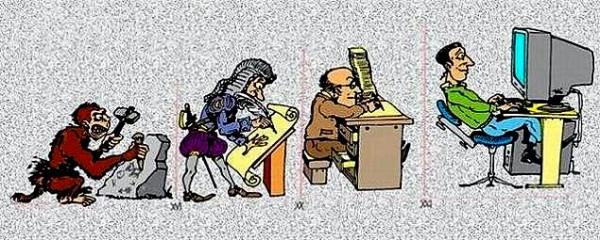 Эволюция письменности
