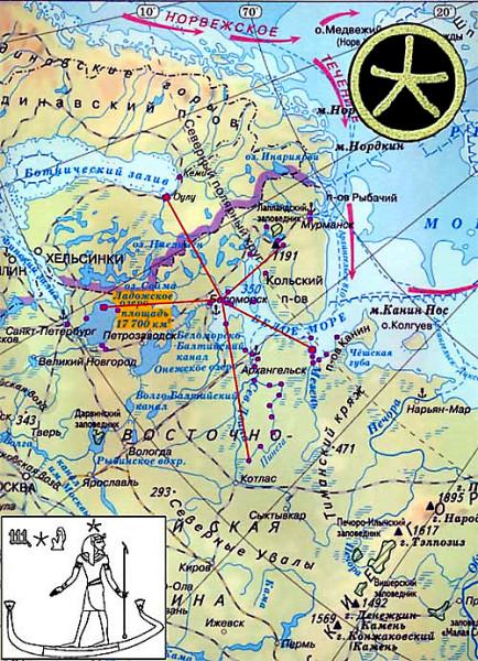 Карта Кем