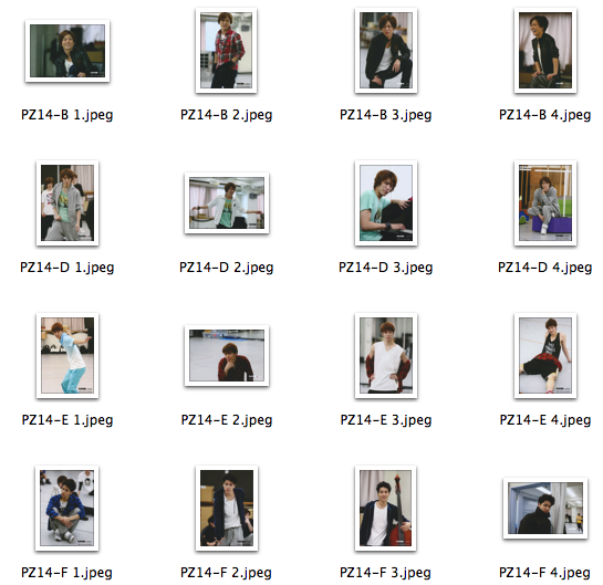 PZ14 photoset file