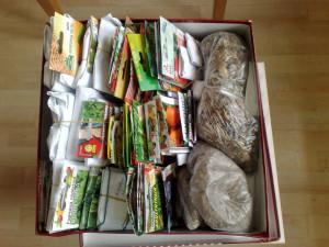 Коробка с семенами 2014