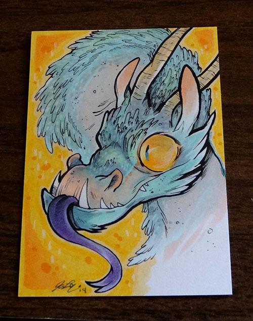 dragon atc color